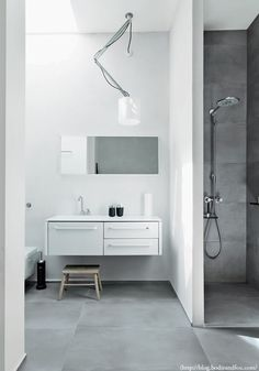 BODIE and FOU★ Le Blog: Inspiring Interior Design blog by two French sisters: 3 bathroom details I love using concrete