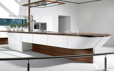 Superb Yacht Inspired Marecucina Kitchen Concept From Alno