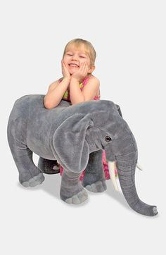 I love him! Melissa & Doug Oversized Elephant available at #Nordstrom