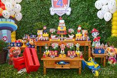 Tema da festa: Patrulha Canina - Guia Tudo Festa - Blog de Festas - dicas e ideias!