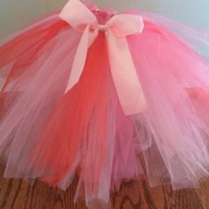 Valentine's Tutu #valentines #crafts. So easy to make. Step-by-step with pictures.