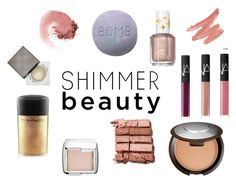 """""""shimma shimma"""" by hannahberry17 on Polyvore featuring beauty, Becca, Burberry, Hourglass Cosmetics, Bobbi Brown Cosmetics, Essie, NARS Cosmetics, MAC Cosmetics, Beauty and makeup"""