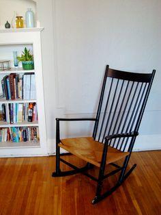 Wegner rocking chair