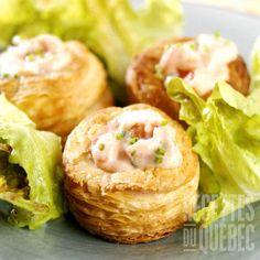 Vol-au-vent aux fruits de mer | .recettes.qc.ca