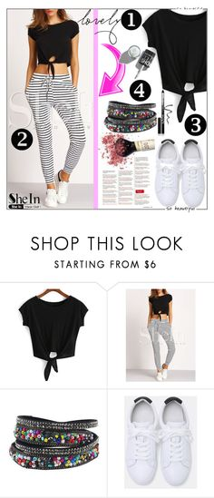 """""""SheInSide IX / 18."""" by esma178 ❤ liked on Polyvore featuring NYX"""