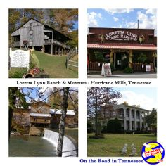 On the Road in Hurricane Mills, Tennessee and a visit to Loretta Lynn's Ranch.