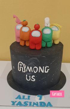 Fondant Cakes, Birthday Cakes, Cake Decorating, Birthdays, Pastel, Games, Desserts, Furniture, Food
