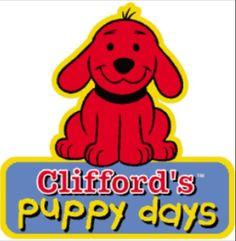 """Childhood PBS Kids cartoon, """"Clifford's Puppy Days""""."""