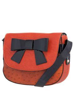Melie Bianco Dana Crossbody Bag In Paprika.