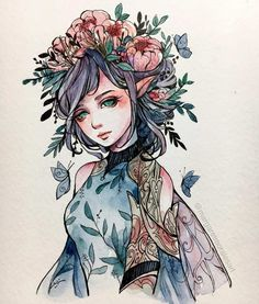 Margaret Morales is a visual designer, painter and watercolor artist from Philippines. Watercolor Artists, Watercolor Paintings, Watercolor Trees, Watercolor Landscape, Abstract Paintings, Oil Paintings, Watercolor Portraits, Painting Art, Landscape Paintings