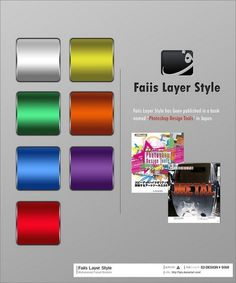 500+ Free Photoshop Layer Styles For Download