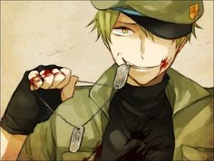 Flippy from Happy tree friends anime - Google Search