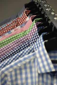 someday ill have my own gingham section in my closet. YES!