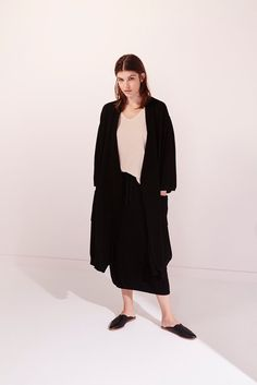 Park Cardigan by Kowtow. Ethical organic cotton.