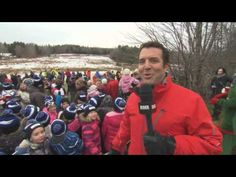 RICK MERCER REPORT | ▶ Rick and the Boston Christmas Tree - YouTube | Published on December 2, 2015 | Rick goes to Pictou County, Nova Scotia to help fell Christmas tree the Province of Nova Scotia sends to the City of Boston every year as thanks for help after the Halifax explosion.