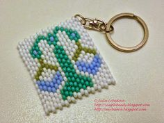 Beading for the very beginners: Brick stitch: Libra (Zodiac sign)