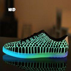 Les 15 meilleures images de Chaussures lumineuse
