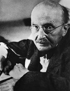 Max Planck - originator of the quantum theory