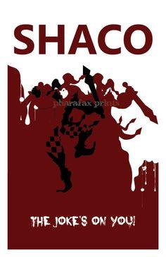 Shaco League of Legends Print by pharafax...