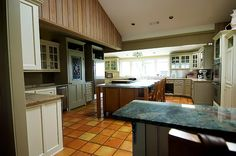 Nice layout for a country kitchen