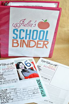 Printable Last Day of School Fill In - to go hand in hand with school binder