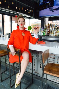 Happy Hour Style (The Cosmo) Blouse and Heels Marshalls