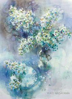 На руке, дарящей розы, всегда останется их аромат. Художник Yuko Nagayama.   Записи AЯT (Искусство)   УОЛ