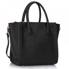 Kabelka Black Fashion Tote Bag - černá SKLADEM