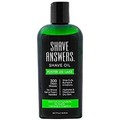 Foster and Lake SHAVE ANSWERS Shaving Oil, Pre Shave Oil for Smooth Shave, 4 fl ozs, Natural and… Review