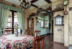 Коттедж на участке с перепадами рельефа | Дома из клееного бруса | Журнал «Деревянные дома»