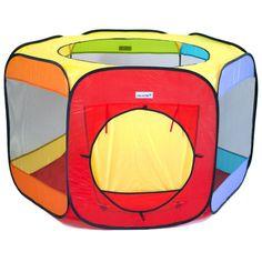eWonderWorld Jumbo Six Sided Hexagon Wonder Play Tent