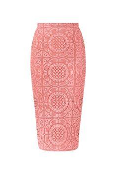 objeto del deseo - falda de encaje de burberry prorsum primavera verano 2014