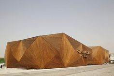 The Canadian Pavilion at the Shanghai 2010 designed by  Montreal-based Saia Barbarese Topouzanov Architects.