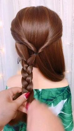 Quotes Discover This will make Women with less hair look more beautiful. Get hair style inspiration. No matter what your hair type is we can help you to find the easy hairstyles. Easy Hairstyles For Long Hair, Braids For Long Hair, Pretty Hairstyles, Girl Hairstyles, Long Hair Buns, Hairstyle Ideas, Easy Wedding Hairstyles, Kids School Hairstyles, Toddler Hairstyles