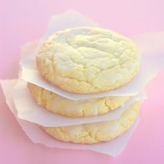 Lemon Drop Cookies
