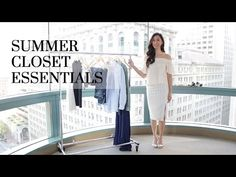 Fashion Closet Essentials Part 14 Summer Edition Capsule Wardrobe, Wardrobe Rack, Closet Essentials, Summer Fashion Trends, Fashion Looks, Girly, Outfits, Boho, Womens Fashion