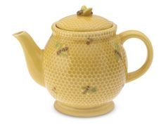 Darling bees buzz around on this teapot from Williams Sonoma