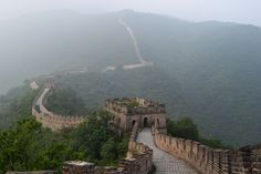 Great Wall of China China Wall, China China, Great Wall Of China, Amazing Buildings, Fortification, Shanghai, Architecture, Travel, Great Wall China