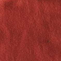 Double Brushed Polyester Spandex: Rust Solid