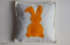 Easter giveaway pillow