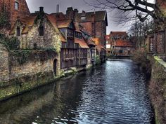 Brugge, Belgium is a heavenly cruise down this waterway with many locals still waving from their homes to the visitors.