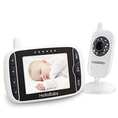 ALWAYS RELAX WITH THIS WIRELESS DIGITAL BABY MONITOR  JUST $79.99