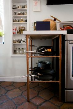 pantry organization —Chris and Amber's Old + New Renovated Home | Apartment Therapy