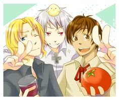 Bad Touch Trio - Hetalia - France / Prussia / Spain