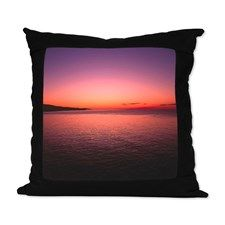 sunset4 Suede Pillow