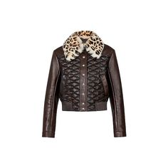 Products by Louis Vuitton: Lambskin Malletage Jacket Ropa Louis Vuitton, Louis Vuitton Official Website, Brown Outfit, Ideias Fashion, Ready To Wear, Jackets For Women, Leather Jacket, Fashion Outfits, How To Wear