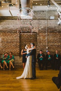 Real Raleigh Wedding at The Stockroom