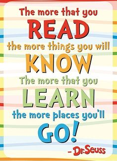 Life is all about living the way you want. Do what your heart says. Here are 71 Dr. Seuss quotes that will change the way you think about life Library Posters, Reading Posters, Reading Quotes, Quote Posters, Reading Charts, Classroom Welcome, Classroom Quotes, Classroom Posters, Classroom Decor