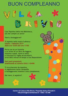 Locandina maratona di lettura per bambini