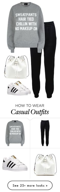 """38 winter casual style"" by romykhattar on Polyvore featuring Barbara Bui, Private Party, adidas, Sole Society, women's clothing, women, female, woman, misses and juniors"